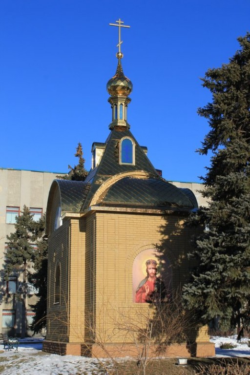 часовня в честь святой великомученицы Варвары на территории ГО донбасс-Антрацит