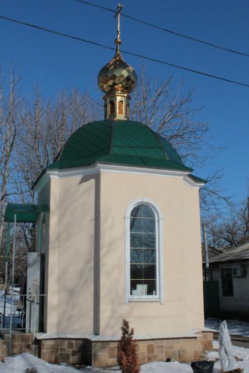 часовня на территории ВГСО в честь святой великомученицы Варвары