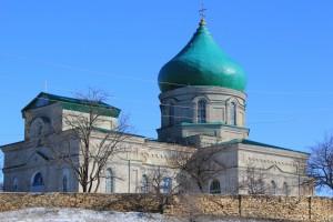 храм посёлок Хрустальное