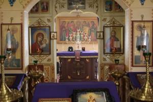 иконостас храма